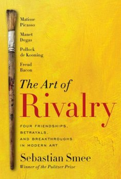 bookcover for Smee's The Art of Rivalry; a great text exploring 4 intense creative rivalries.