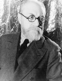 Henri Matisse, (who enjoyed a creative rivalry with Picasso) 1933 May 20. Photograph by Carl Van Vechten.