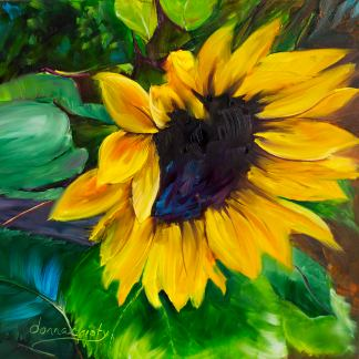 sunflower painting for Why You Need a Feel Good File