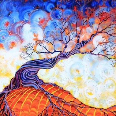 tree art for Feel Good File post