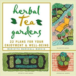 book cover of Herbal Tea Gardens for How Tea Helps Artists post