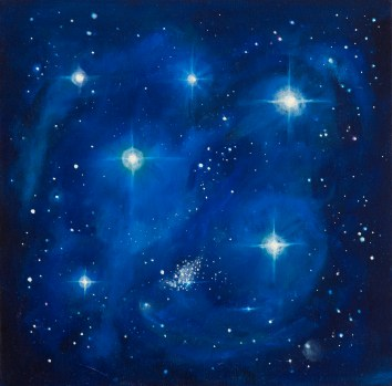Jonah Complex reach for the stars painting image.