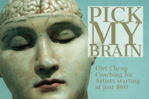 Pick my brain coaching package, charmed studio