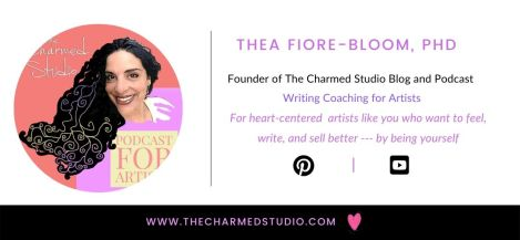 Charmed studio email signature example