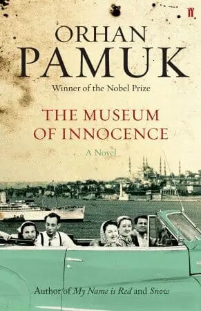 Museum of Innocence, by Orhan Pamuk, book cover