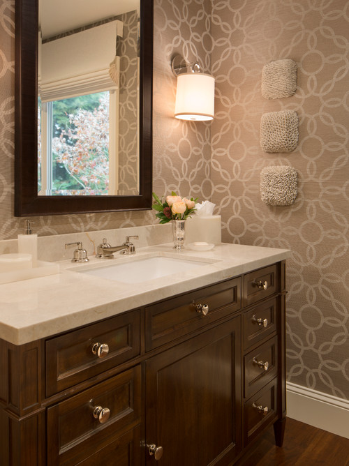 10 Pretty Powder Rooms   The Charming Detroiter