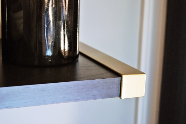 Ikea Shelf Hack: Turning Ordinary into Gold Extraordinary! | The Charming Detroiter