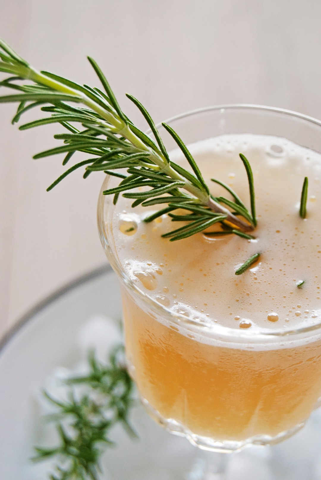 This tasty bourbon cocktail features St. Germain, fresh lemon juice, simple syrup, and rosemary, and is inspired by a Louisville restaurant cocktail!