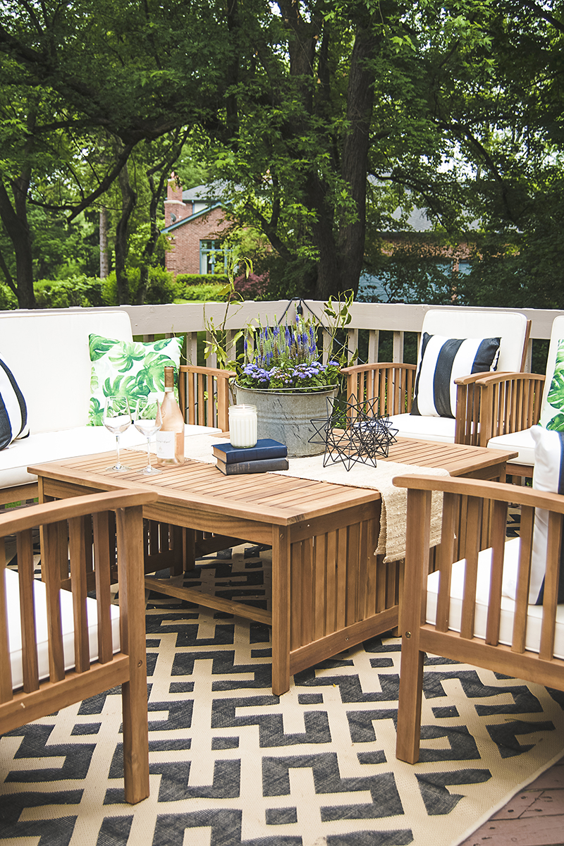 Nice Are You Stumped With How To Plan Your Outdoor Coffee Table Decor? See How I