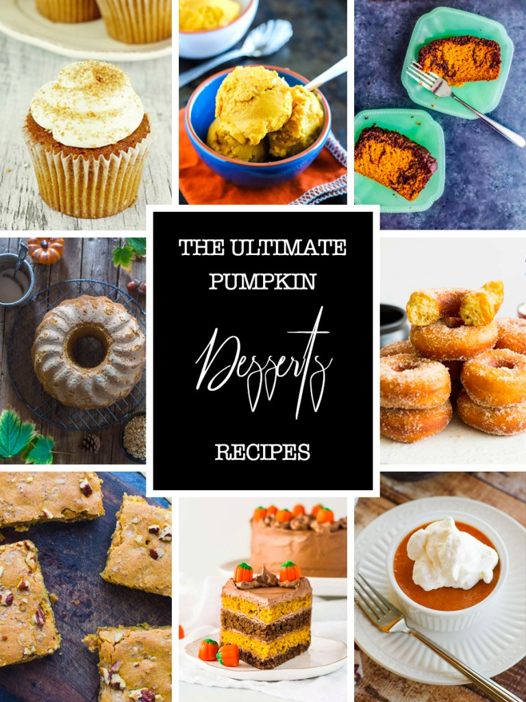 It's that time of the year where I could eat roasted pumpkin every day, so today I'm sharing my ultimate pumpkin recipe roundup, from appetizers to desserts!
