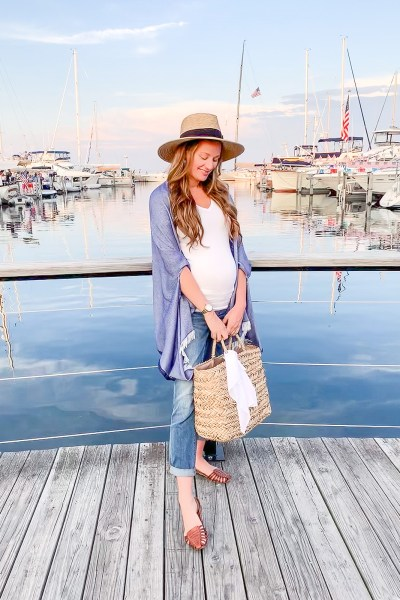 A beautiful lightweight summer cape scarf is the perfect accessory for your summer night outfits, and today I'm sharing all my favorite ones here on the blog!