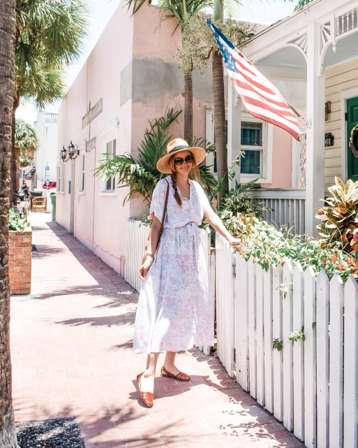 Floral Midi Dress for the Summer