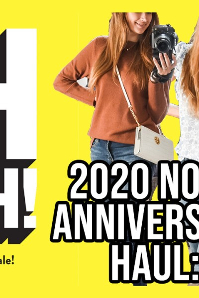 Hey friends! I'm so excited to share with y'all part 2 of my 2020 Nordstrom Anniversary Sale Haul today!