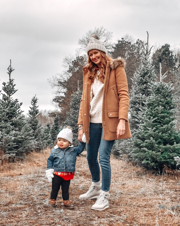 Merry Christmas, friends! Today I'm sharing some of my tips for how to choose a Christmas tree, gathered from years of searching for the perfect tree each December!