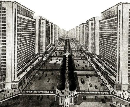 Le Corbusier Ville Radieuse (1930)