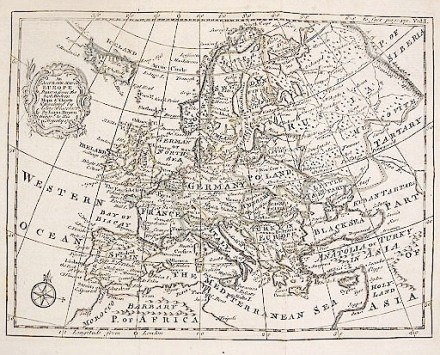"Thomas Jeffrey's 1762 Map of ""Russia, or Muscovy in Europe"""