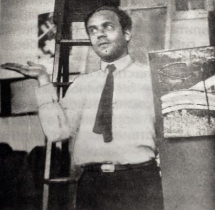 Mikhail Okhitovich, 1930