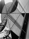 Musée national d'art moderne, Paris, Exposition, 1953, Mural photographique - %22Le Modulor%22
