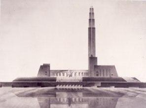 V. Oltarzhevsky, Monument to Christopher Columbus 1929