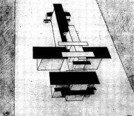 К. Малевич. Планита - сегодняшние сооружения. 1924