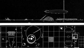 Дворец культуры. Проект Арх.- И. Леонидов Год создания проекта- 1930 Источник- %22Советская архитектура за 50 лет%22