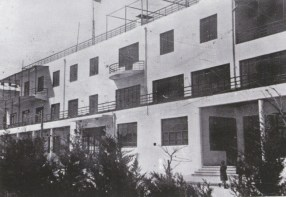 Aleksandr and Leonid Vesnin, workers' housing Azerbaijan region (1933)
