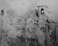blowing up the church of Christ the Savior