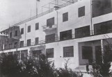 Facade of Aleksandr and Leonid Vesnin, workers club in Azebaijan 1930s