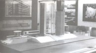 Ivan Leonidov's Narkomtiazhprom model (1934)