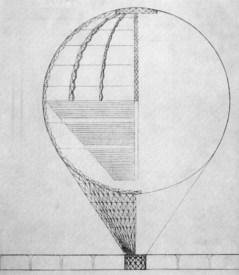 Detail from Ivan Leonidov's famous design for the Lenin Institute (1927)