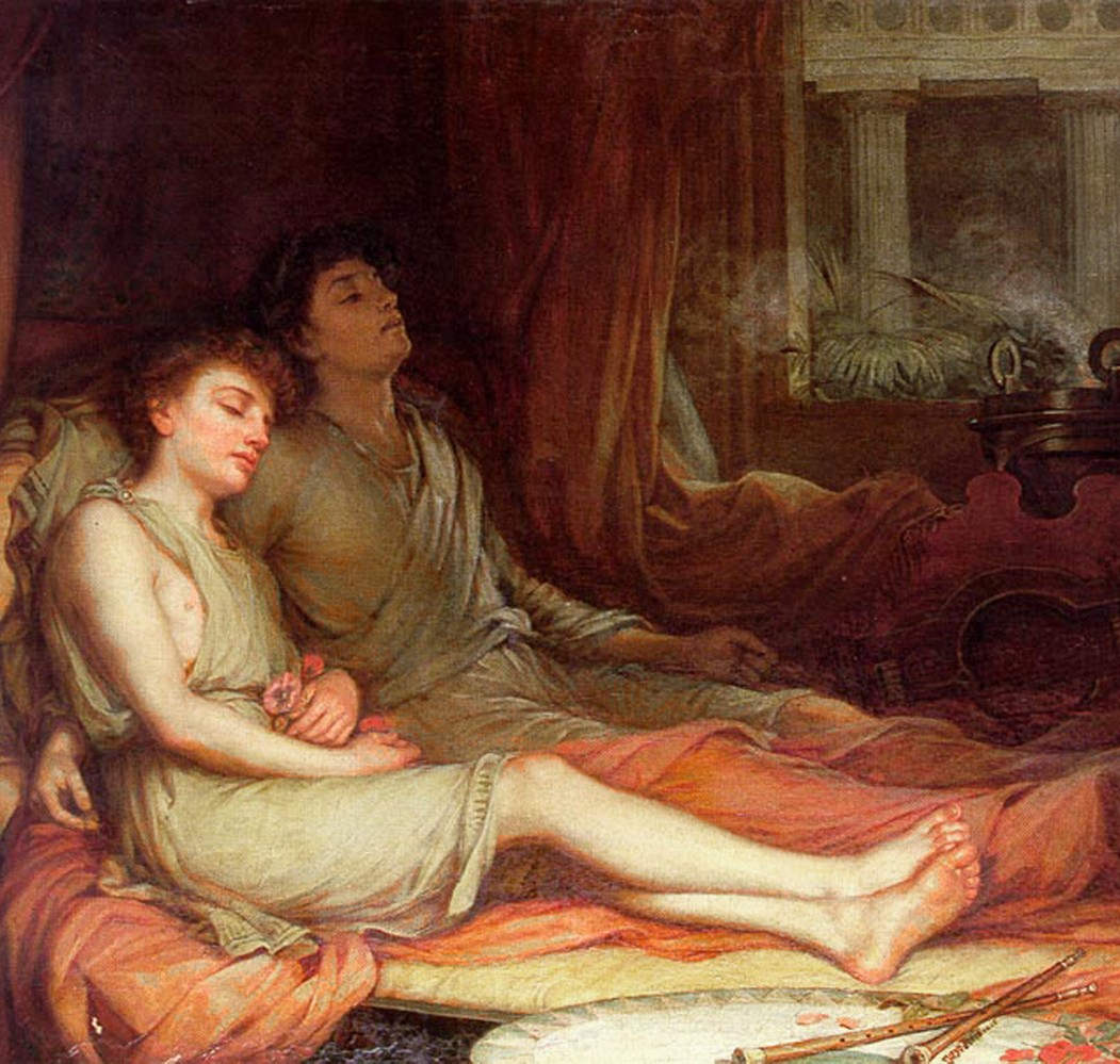 John William Waterhouse, Hypnos and Thanatos