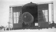 Дирижабль %22VI Октябрь%22 перед полетом (1923)