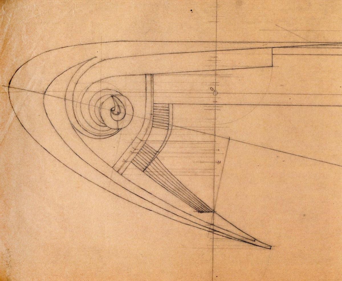 Decorative composition for Ladovskii's class, 1923
