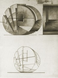 Lidiia Komarova, thesis project for Nikolai Ladovskii's studio, 1923