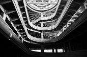 Interior to the Fiat Lingotto auto manufacturing plant