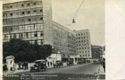 Corbusier's Tsentrosoiuz building in Moscow, 1939