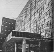 Corbusier's Tsentrosoiuz building in Moscow, 1933