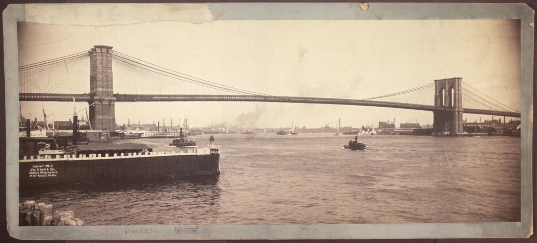 Brooklyn Bridge, New York City (1896)