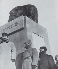 "Unveiling of Nikolai Andreev's ""Head of Danton"" (1919) «Голова Дантона», 1919 г. Н. Андреев"