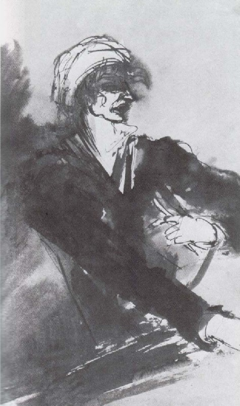 "Mikhail Sokolov, ""Jean-Paul Marat [Марат],"" from Figures of the 1789 French Revolution (1930-1934)"