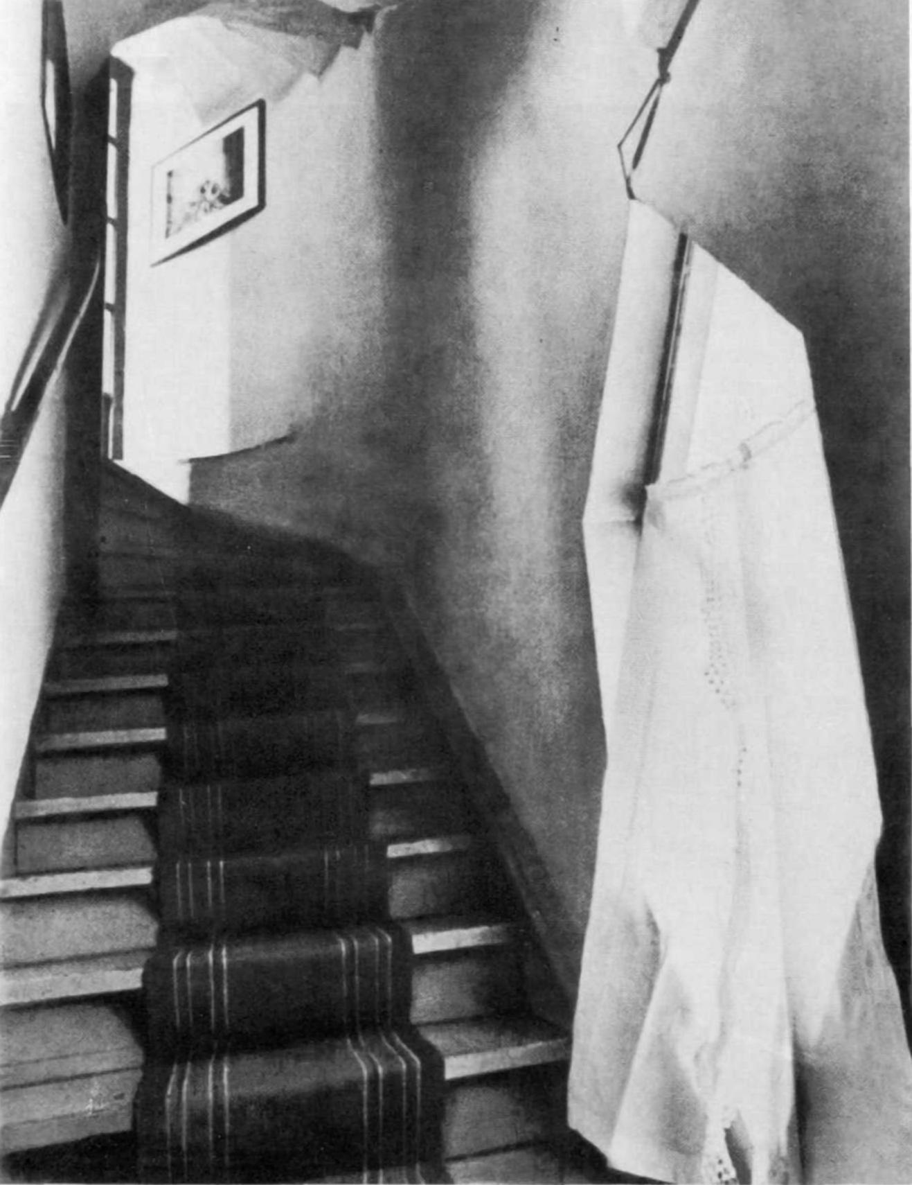 Staircase inside the Mel'nikov house (1929)