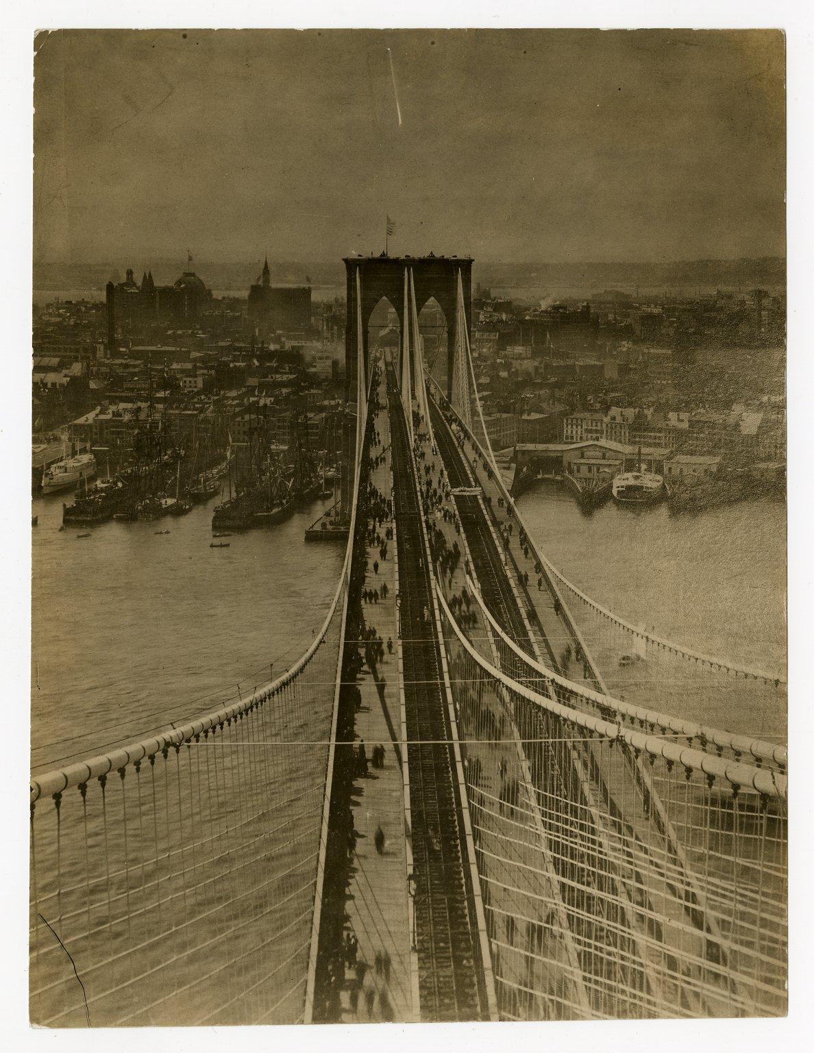 View from Brooklyn Tower looking toward New York. May 25, 1883.