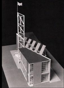 Model of Mel'nikov's 1925 Soviet Pavilion
