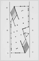 Constructive elements for Mel'nikov's pavilion in Paris (1925)