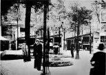 Fairgrounds at the Paris Expo, 1925