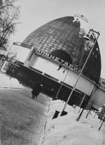 Moscow Planetarium, 1950; Mikhail Barshch, M. Siniavskii, and G. Sundblat, architects.