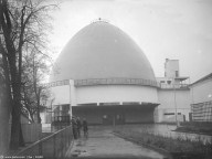 Moscow Planetarium, 1930; Mikhail Barshch, M. Siniavskii, and G. Sundblat, architects.