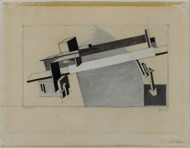 El Lissitzky, PROUN The Bridge (1920)