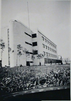 All-union electrical institute, photographed in 1932d