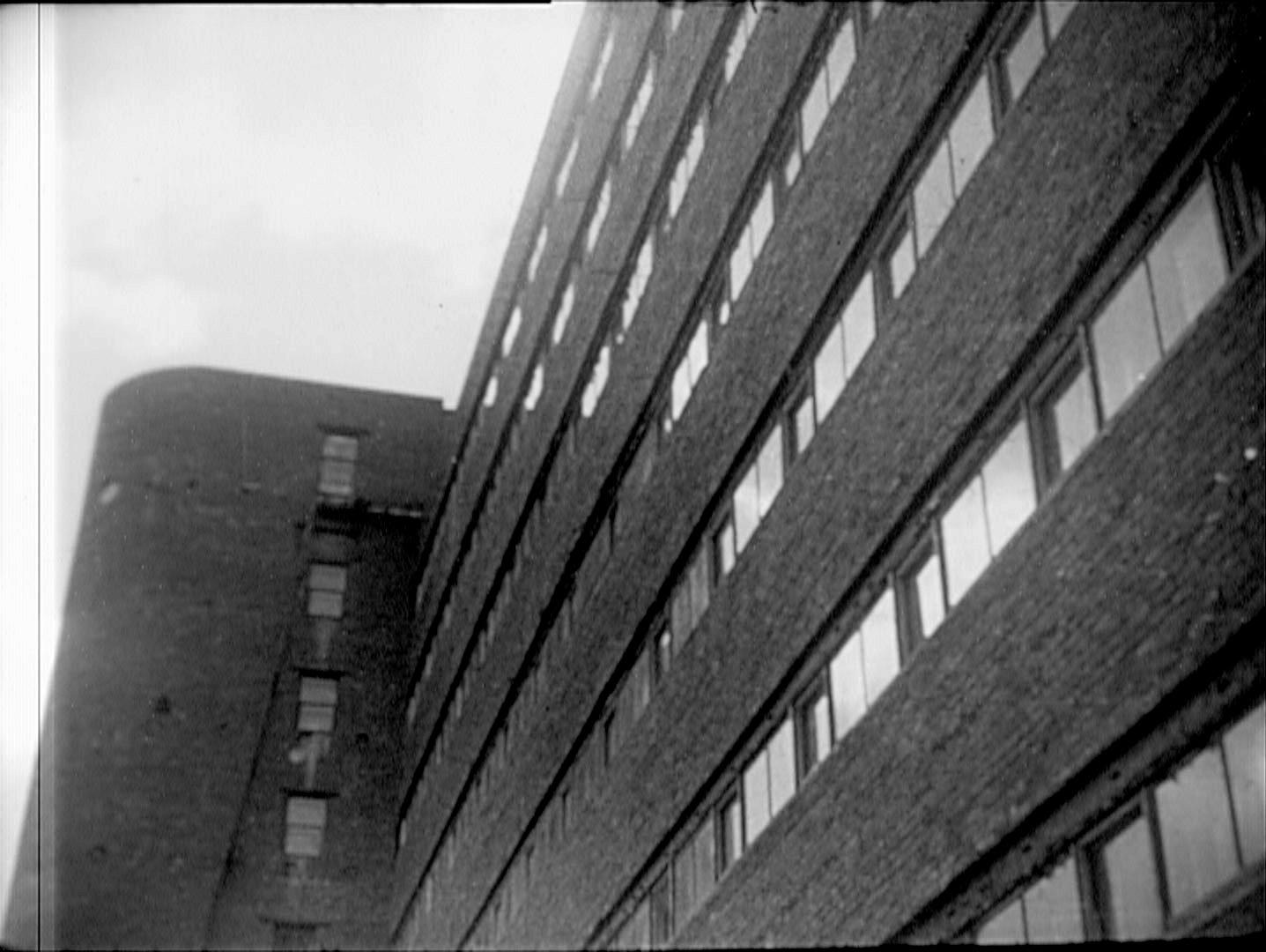 Ivan Nikolaev's Student commune for the textile institute, 1929